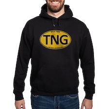 Star Trek: TNG Gold Oval Hoodie