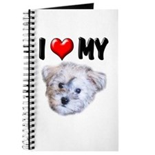 I Love My Schnoodle Journal