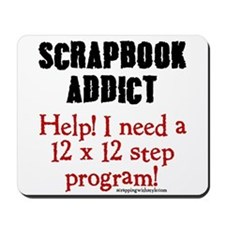 12 x 12 Step Program Mousepad