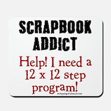 12 x 12 Step Program Mousepad