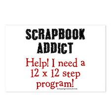 12 x 12 Step Program Postcards (Package of 8)