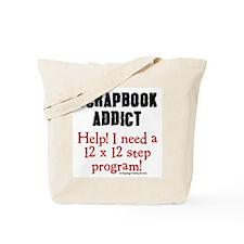 12 x 12 Step Program Tote Bag