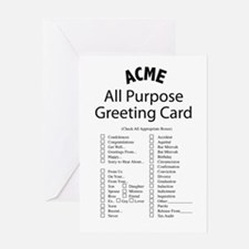 ACME all Purpose Greeting Card