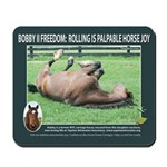 Bobby Horse-Mouse Pad