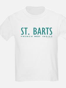 St. Barts FWI - Kids T-Shirt