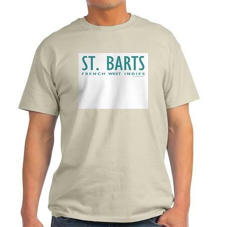 St. Barts FWI - Ash Grey T-Shirt