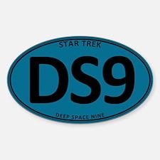 Star Trek: DS9 Blue Oval Sticker (Oval)