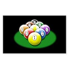 9-ball rack Decal