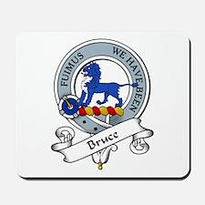 Bruce Clan Badge Mousepad