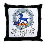 Bruce Clan Badge Throw Pillow