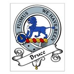 Bruce Clan Badge Small Poster