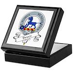 Bruce Clan Badge Keepsake Box