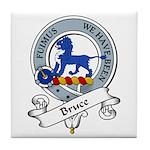 Bruce Clan Badge Tile Coaster