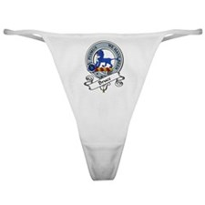 Bruce Clan Badge Classic Thong