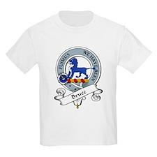 Bruce Clan Badge Kids T-Shirt