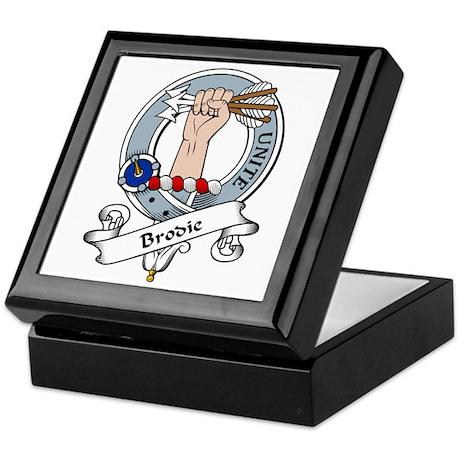 Brodie Clan Badge Keepsake Box