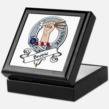 Brodie Clan Badge Keepsake Box