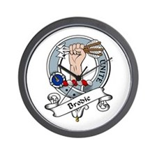 Brodie Clan Badge Wall Clock