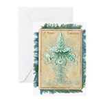 Old Green Tree Greeting Cards (Pk of 10)