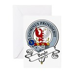 Boyle Clan Badge Greeting Cards (Pk of 10)