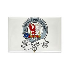 Boyle Clan Badge Rectangle Magnet (10 pack)