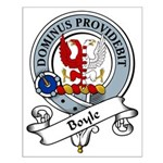 Boyle Clan Badge Small Poster