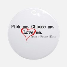 Pick Me - Derek Meredith Ornament (Round)
