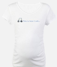 This is how I roll golf gift Shirt