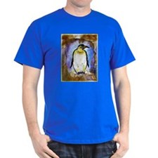 Penguin, colorful, Penguin, T-Shirt