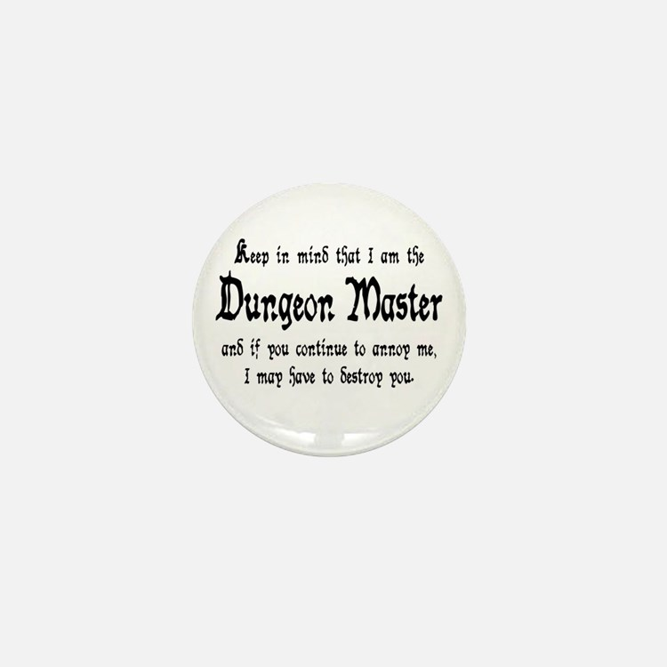 Dungeon Master - Mini Button