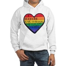 I Support GLBT Rights Hoodie