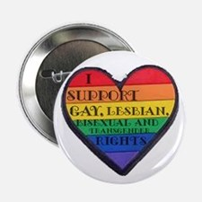 "I Support GLBT Rights 2.25"" Button"