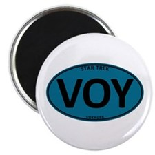 "Star Trek: VOY Blue Oval 2.25"" Magnet (10 pack)"