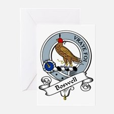 Boswell Clan Badge Greeting Cards (Pk of 10)