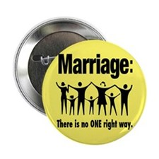 """Marriage - 2.25"""" Button"""