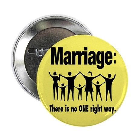 "Marriage - 2.25"" Button (10 pack)"