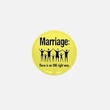 Marriage - Mini Button