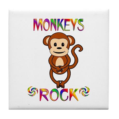 Monkey Tile Coaster