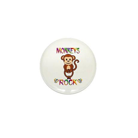 Monkey Mini Button (10 pack)
