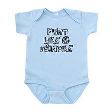 Fight Like A Vampire Infant Bodysuit