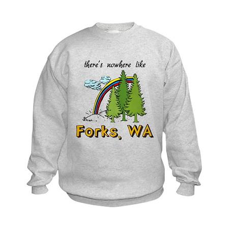 Nowhere Like Forks Kids Sweatshirt