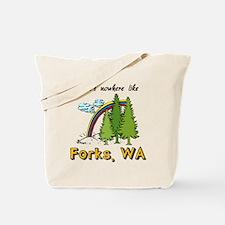 Nowhere Like Forks Tote Bag