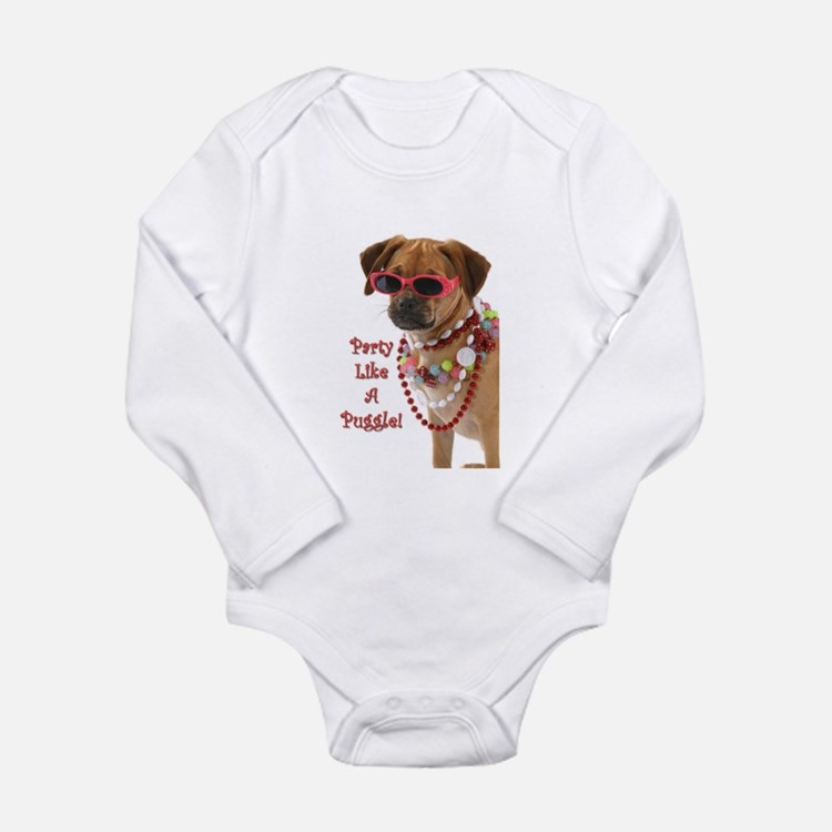 party like a puggle... Body Suit