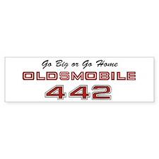 4-4-2 Vintage Bumper Sticker