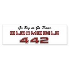 4-4-2 Vintage Car Sticker