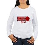 Dexter Blood Spatter Women's Long Sleeve T-Shirt