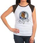 Borthwick Clan Badge Women's Cap Sleeve T-Shirt