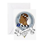 Borthwick Clan Badge Greeting Cards (Pk of 10)