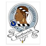 Borthwick Clan Badge Small Poster