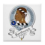 Borthwick Clan Badge Tile Coaster